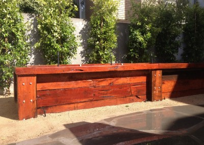 green landscaping werribee landscaping red gum retaining walls